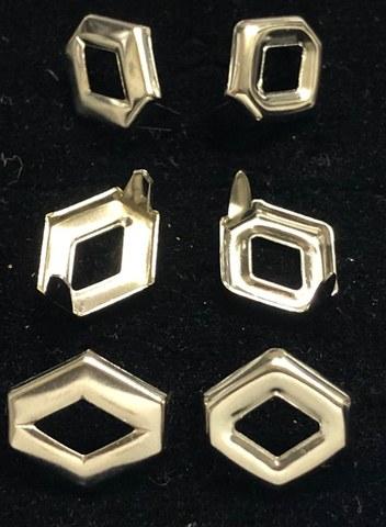 スタッズ/オープンダイヤモンド