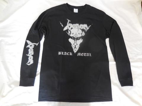 長袖TシャツVenom/black metal