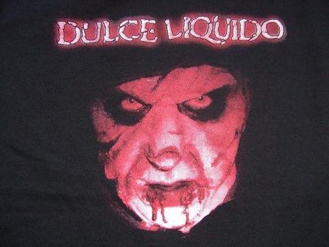 Tシャツdulce liquido バックプリントあり