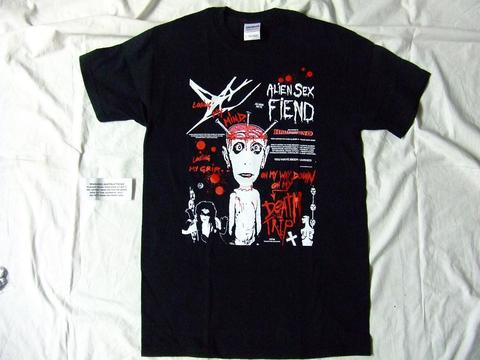 Tシャツalien sex fiend/death trip