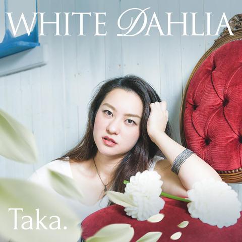 Taka. WHITE DAHLIA