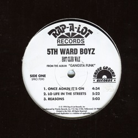 5th Ward Boyz / Hot Club Wax - Gangsta Funk
