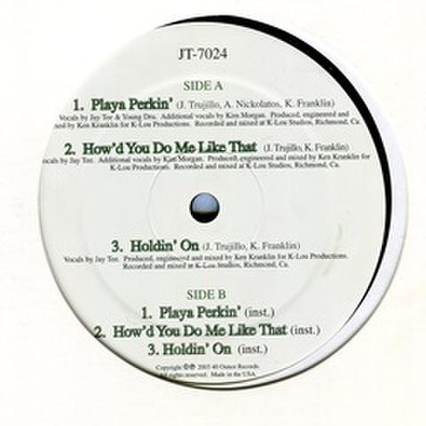 40 Ounce Records / Playa Perkin