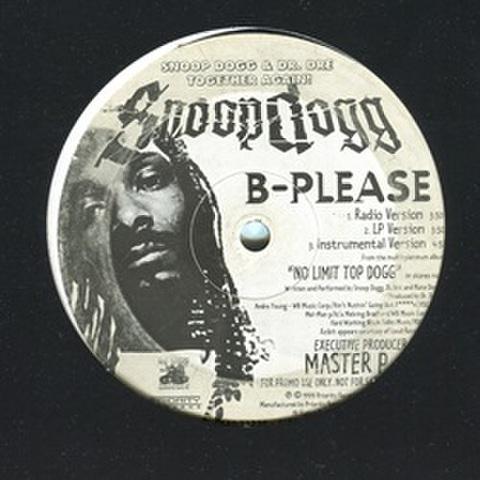 Snoop Dogg / B-Please