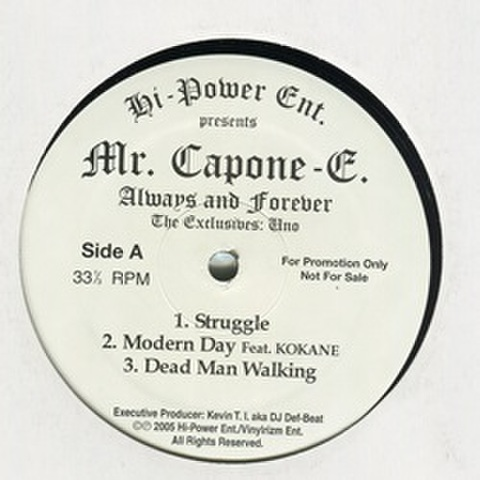 Mr. Capone-E / Always And Forever
