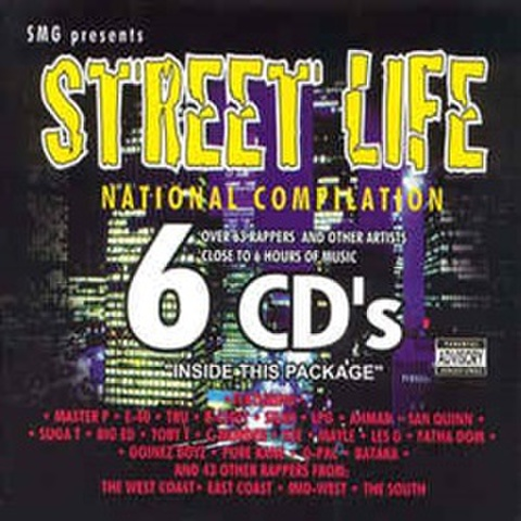 SMG / Street Life National Compilation 6 CD's