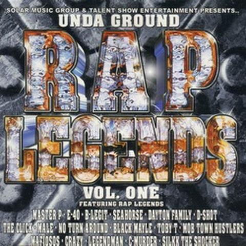 Solar Music Group & Talent Show Ent / Unda Ground Rap Legends Vol. One