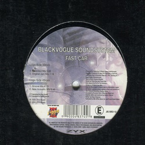 Blackvogue Soundsystem / Fast Car