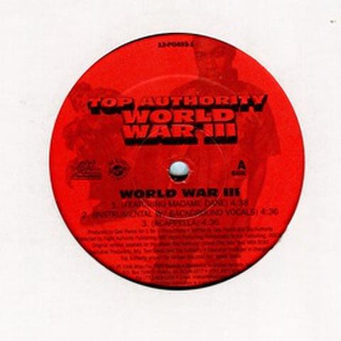 Top Authority / World War lll