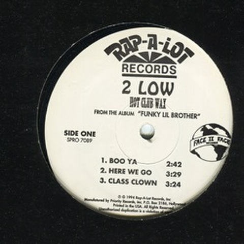 2 Low / Hot Club Wax