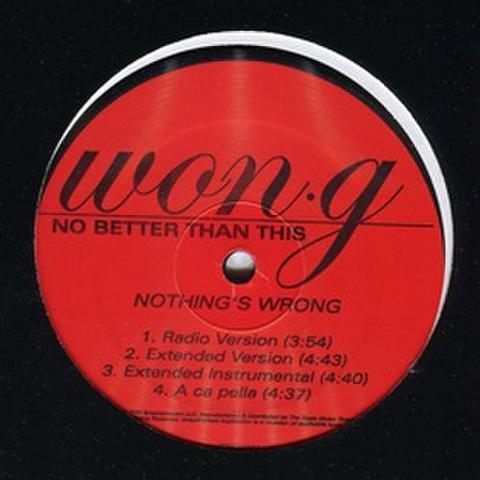 Won.G / Nothing's Wrong