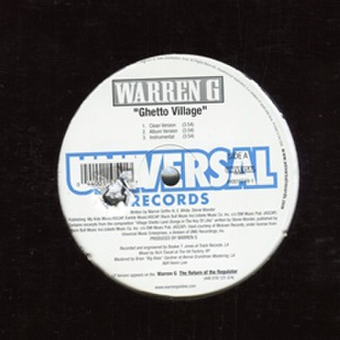 Warren G / Ghetto Village