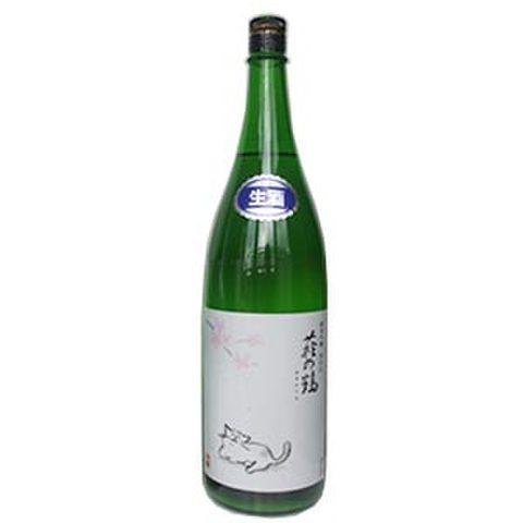 萩の鶴 純米吟醸別仕込み 生原酒 猫のお花見ラベル うすにごり 1800ml