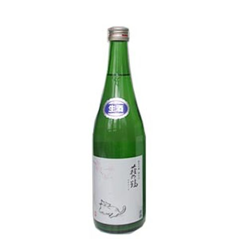 萩の鶴 純米吟醸別仕込み 生原酒 猫のお花見ラベル うすにごり 720ml