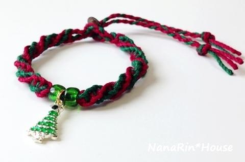 クリスマスチョーカー【シンプル】超小型犬用