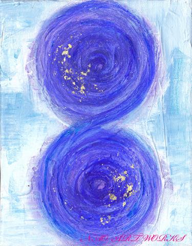 原画『infinity-7,凛-』