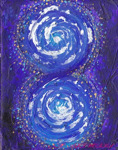 原画『infinity-6,宇宙-』