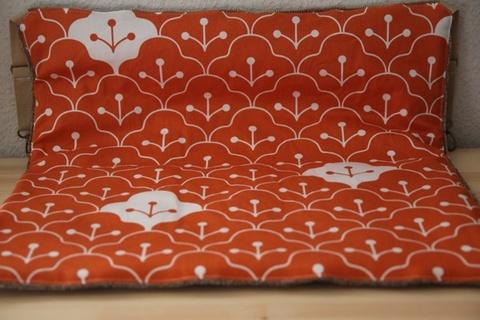 キャットハンモック冬仕立てオレンジ