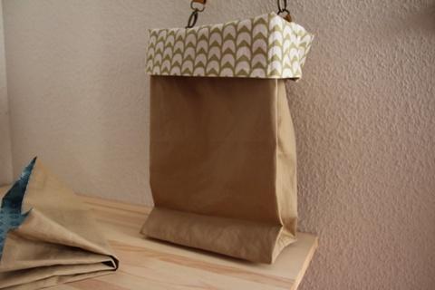 paper bag? 薄緑