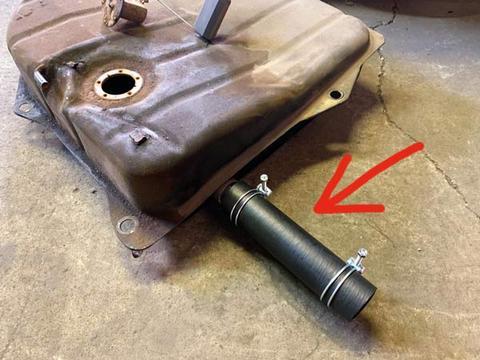 燃料タンクジョイントホースセット