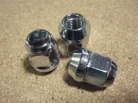 ホイール用袋ナットセット(非貫通/アルミ/鉄ホイール兼用)