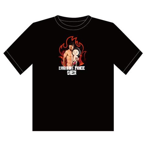 Tシャツ炎(横浜・赤い靴)