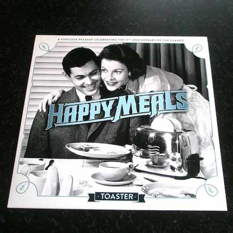 Happy Meals - Toaster (LP)