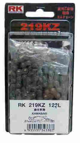 RK カムチェーン 219KZ 124L