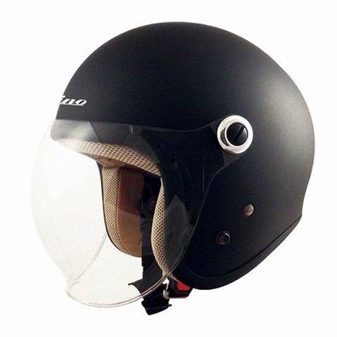 TNK GS-6 ヘルメット MAD BLACK  LADY'S FREE(57-58cm未満)