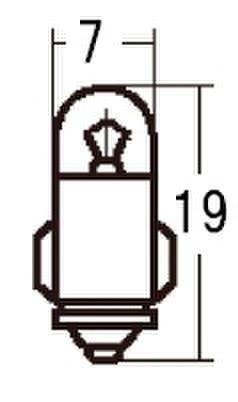 スタンレー A1272J 12V2W T7 10ケ (1箱10ケ入)