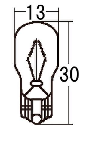 スタンレー WB425 12V15W T13 10ケ (1箱10ケ入)