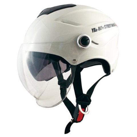 TNK  ヘルメット STR-W BT ホワイト FREE(58-59cm)