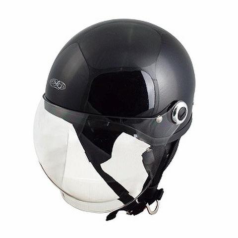TNK SQ-34 ヘルメット メタリックブラック FREE(58-59cm)