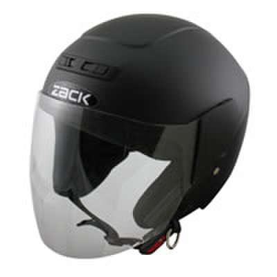 TNK ZR-10 ジェットヘル ハーフマッドブラック フリーサイズ