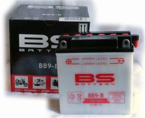 BSバッテリー BB9-B