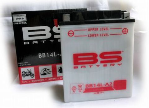 BSバッテリー BB14L-A2