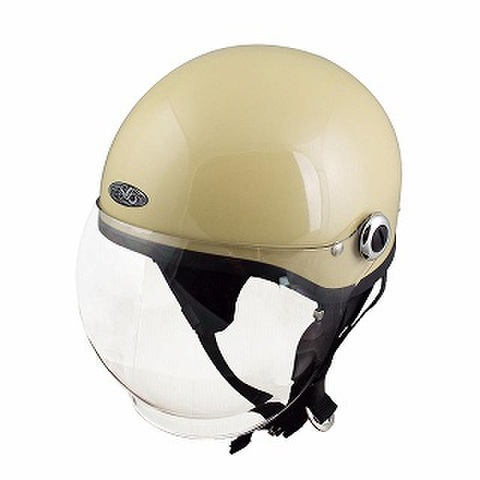 TNK SQ-34 ヘルメット パールアイボリー FREE(58-59cm)