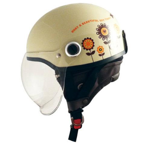 TNK SQ-33 ヘルメット ガーデンアイボリー  LADYS FREE(57-58cm未満)