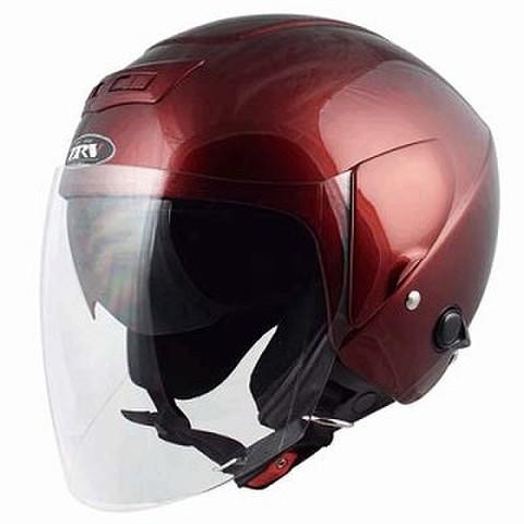 TNK ZRV ジェットヘルメット マルーン
