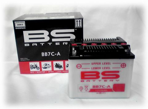 BSバッテリー BB7C-A