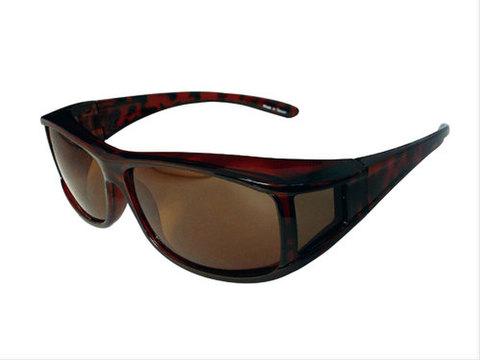 TNK OV-M4 OVERサングラス デミ/ブラウン偏光