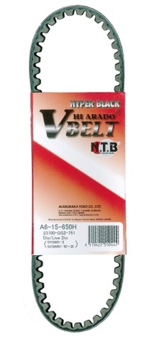 NTB A6-15-650H Vベルト