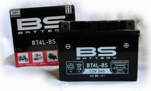 BSバッテリー BT4L-BS