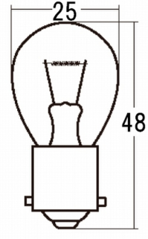 スタンレー A4575B *12V21W 10ケ (1箱10ケ入)
