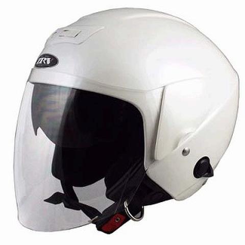 TNK ZRV ジェットヘルメット パールホワイト