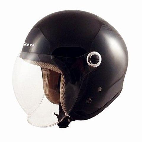 TNK GS-6 ヘルメット BLACK  LADY'S FREE(57-58cm未満)
