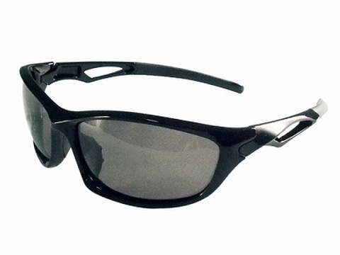 TNK SA-D1 SABERサングラス  ブラック/スモーク偏光
