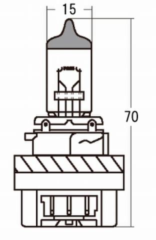 スタンレー 14-0016 ハロゲン 12V35/30W HS5