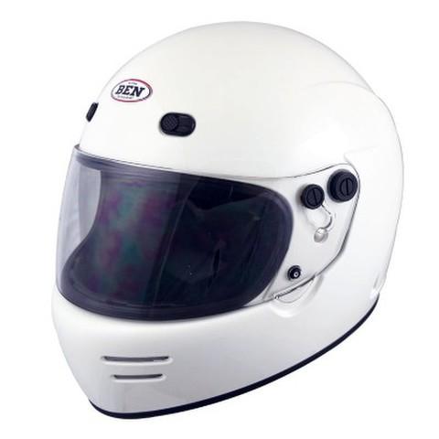 TNK B-70 ヴィンテージフルフェイスヘルメット ホワイト