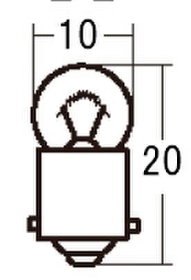 スタンレー A77 12V5W G10 10ケ (1箱10ケ入)